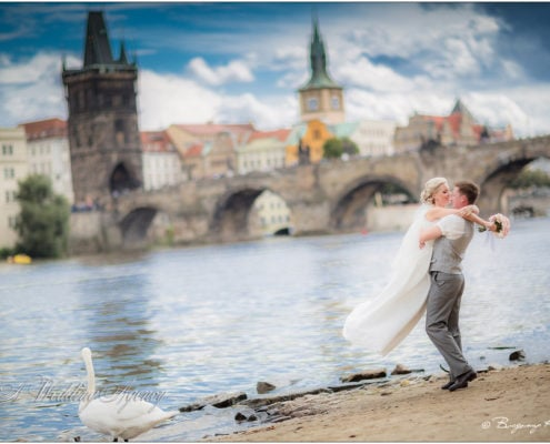 Max & Xenia in Prague