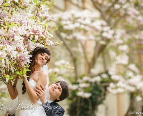 Julia & Gleb in the Vrtbovska Gardens