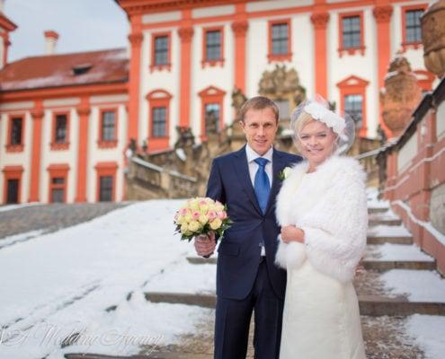 Anna & Ole in Troja Château