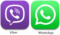 WhatsApp-Viber