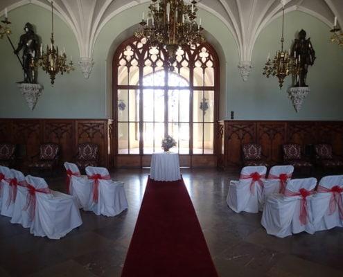 Свадьба в Замке Леднице