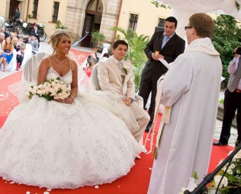 Свадьба в Замке Збирог