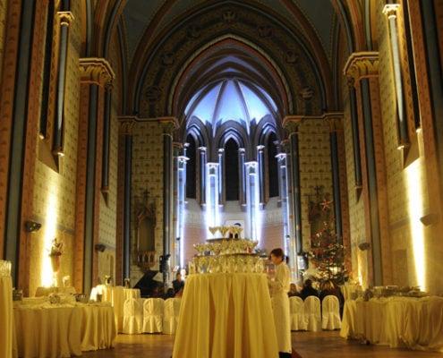 Свадьба в Костеле Сакре Куир