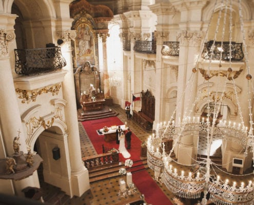 Свадьба в церкви Святого Николая