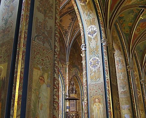 Свадьба в Базилике Святого Петра и Павла