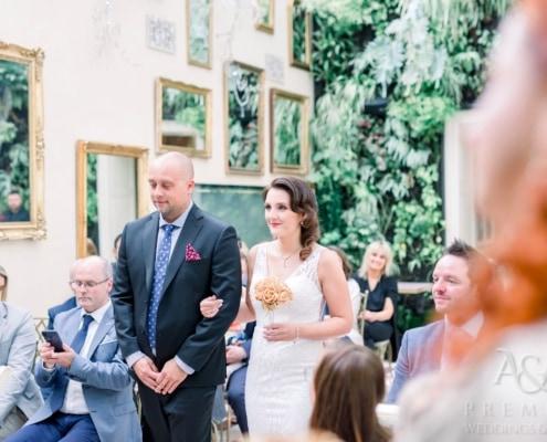 Эксклюзивная свадьба в Пражском Граде