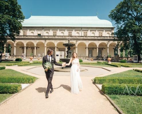 Натали & Дэн в замке Пругонице